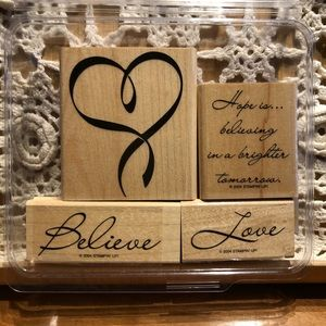 🍒 Stampin' Up! 🍒 « Hope Is... » Stamps Set